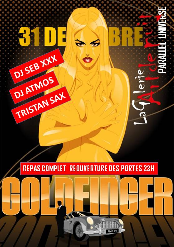 GOLDFINGER 31 DEC
